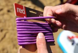 RED Bungee cord ( elastiek) 2,75 cm Purple
