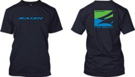 NAISH T-Shirt Slim Box navy