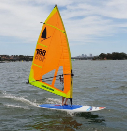Windsurfer LT Starboard One Design compleet met (tuigage)