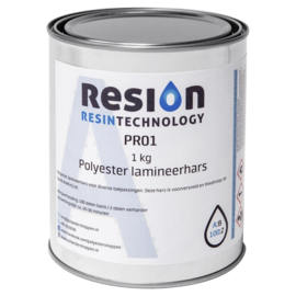 RESION Polyesther lamineer hars 1000 gram