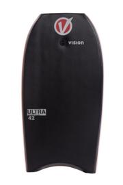 "VISION Ultra 42"" bodyboard black/red"