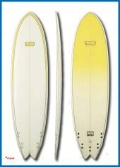 "Seven Surfboard 6,0"" Super Fish"