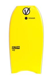 "VISION Ultra 42"" bodyboard yellow/black"