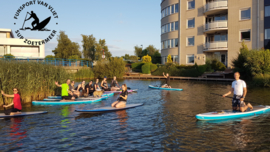 Wednesday Night SUP TOUR 30 september start 18.00 uur Zoetermeer