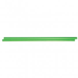 Plastic Flowersticks met rubber groen