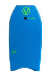 "VISION Spark 36"" bodyboard blue/green"