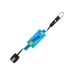 STICKY BUMPS Sup Leash Coil blue