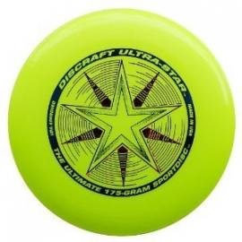 Discraft Frisbee Ultrastar Fluor Yellow 175 gram