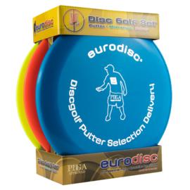 Eurodisc Discgolf Start set High Quality