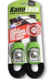 KANULOCK Lockable tiedown set 2,5 m.