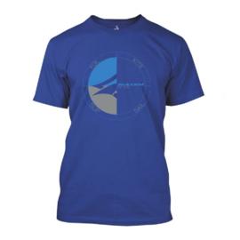 NAISH T-Shirt Cirle Deep Royal