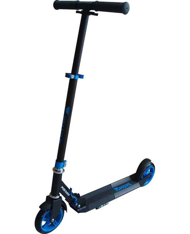 MOVE 145 scooter opvouwbare step blue