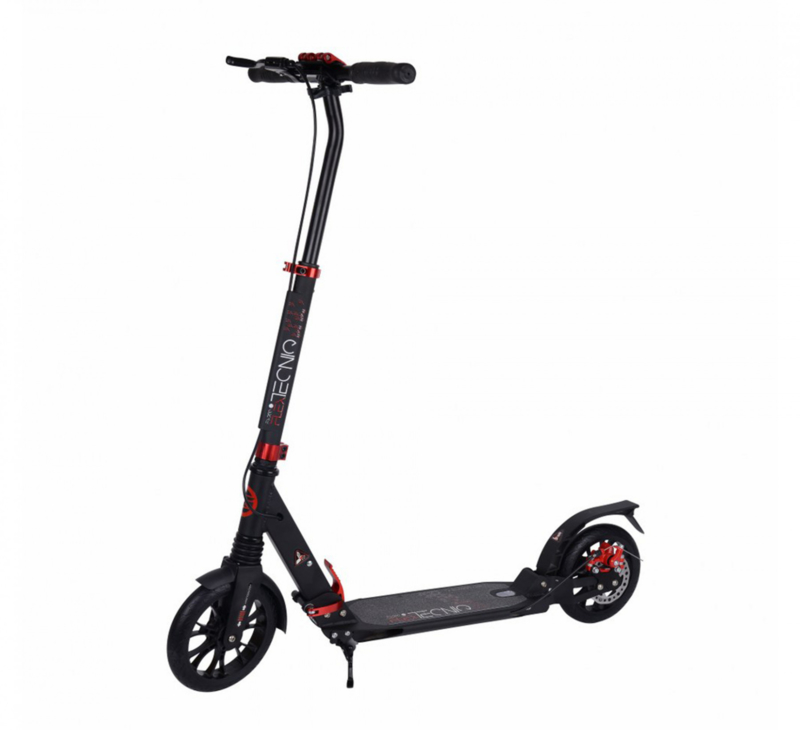 TEMPISCH Tecniq scooter step met handrem