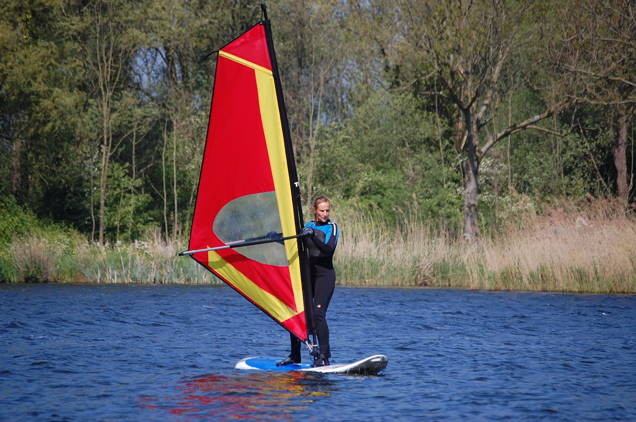 Privéles windsurfen