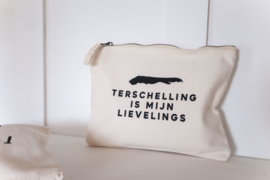 Canvas etui | Terschelling is mijn lievelings