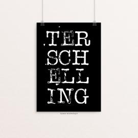 Poster A4 | Terschelling zwart wit