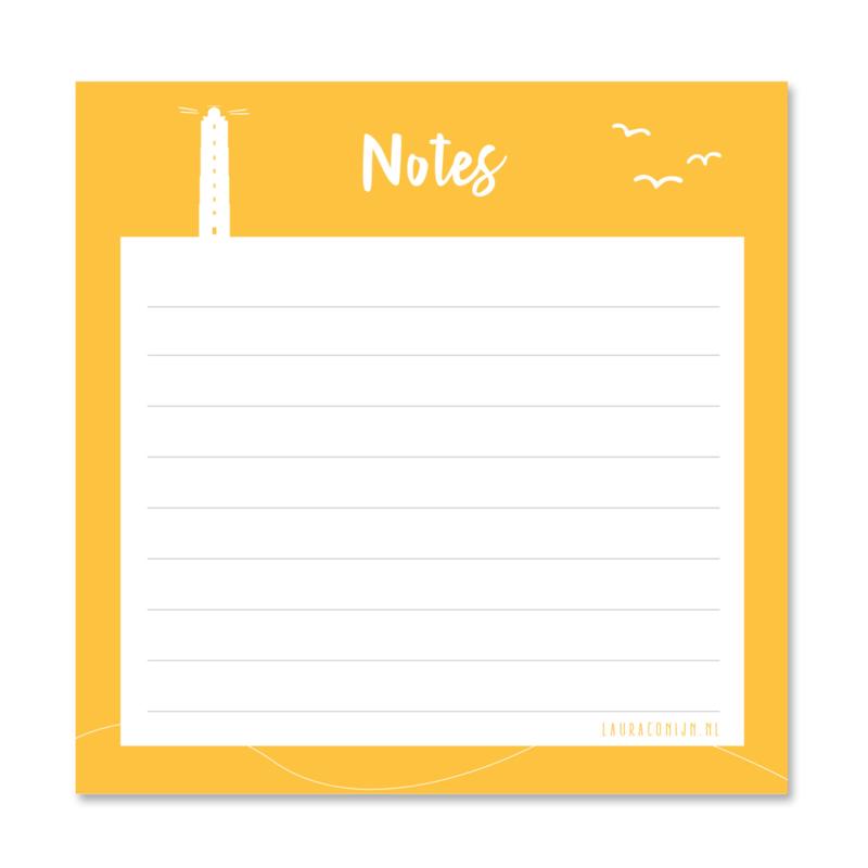 Mini notes   Eiland