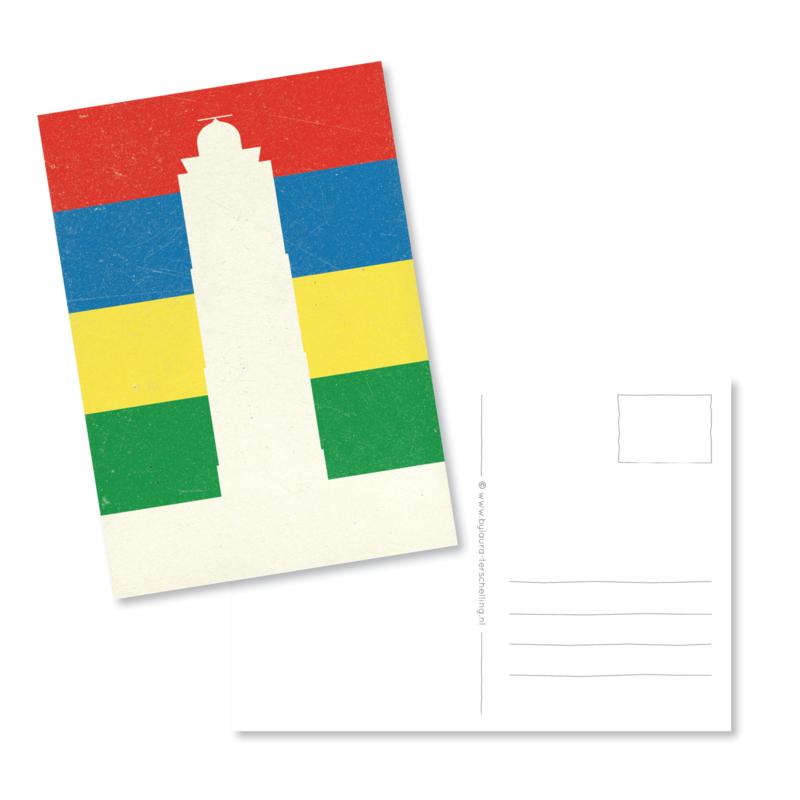 Kaart | Terschelling vlag A6