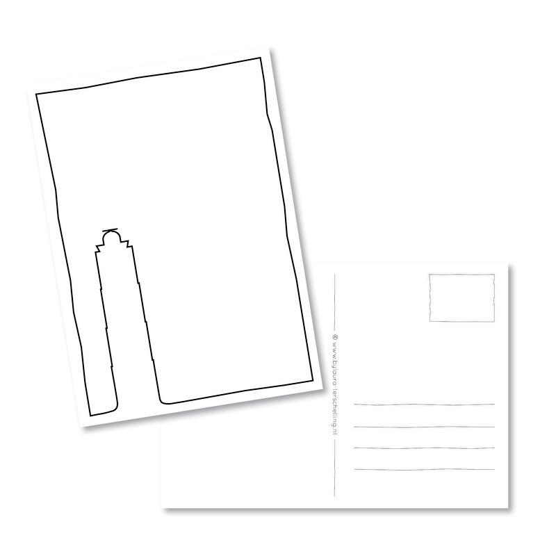 Kaart | Terschelling Brandaris lijn