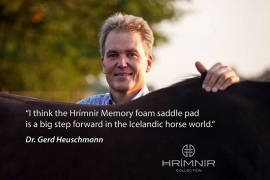 Hrímnir Memory Foam Pad zwart of grijs