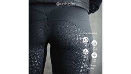 Zwarte Hrímnir rider's fitness tights