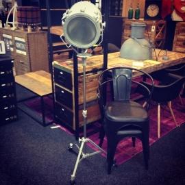 Studio lamp Old grey