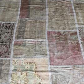 Vintage patchwork Turks Carpet