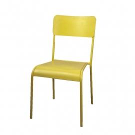 stoel geel
