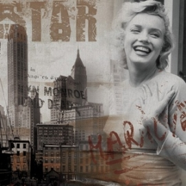 Kunstfoto Marilyn Monroe