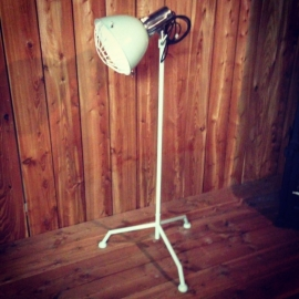 Industriele lamp Vintage green