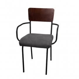 school stoel grey