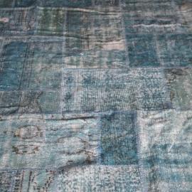Vintage patchwork Turks Carpet Old Vintage