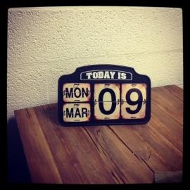 Vintage Kalender