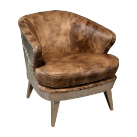 Aviator Fauteuil Champagne Grey
