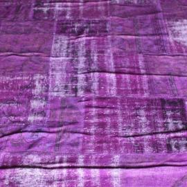 Vintage patchwork Turks Carpet Purple