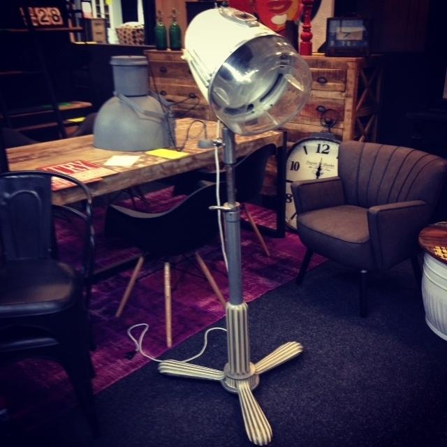 Vintage Droogkaplamp