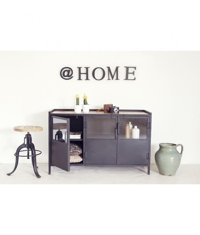 dressoir met houten top
