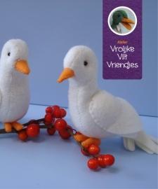 Twee witte duifjes