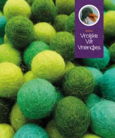 Wolbalmix groentinten