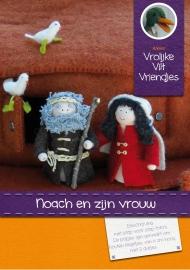 Patroonblad Noach en zijn vrouw