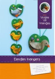 Patroonblad Eenden hangers