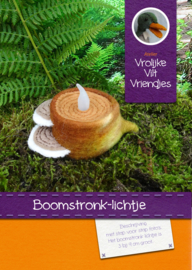 Boomstronk lichtje
