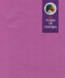 Wolvilt  cyclaam- oud roze 88