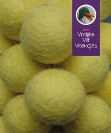 Wolbal geel