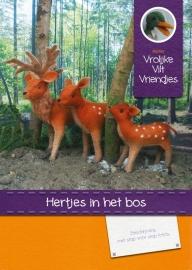 Patroonboekje Hertjes in het bos