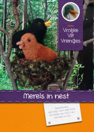 Merels in nest