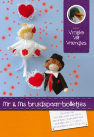Mr en Ms bruidspaar-bolletjes