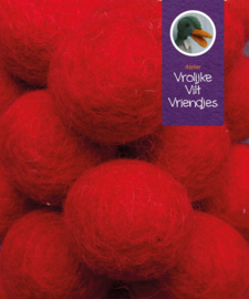 Wolbal rood