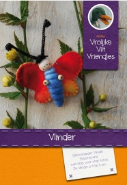 Patroonblad Vlinder en Lieveheersbeestje