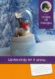 Winterstolp let it snow,muziekdoos